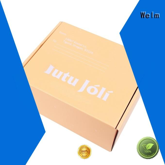 Welm luxury toy packaging box supplier for toy