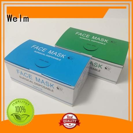 Welm paper medicine packaging material supplier for facial cosmetic