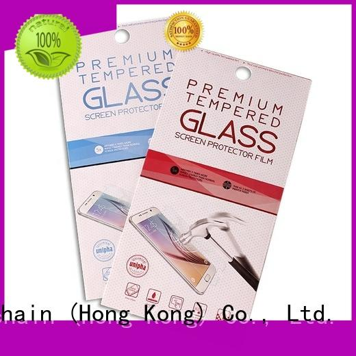 hot sale cardboard cosmetic packaging supplier for tempered glass packing Welm