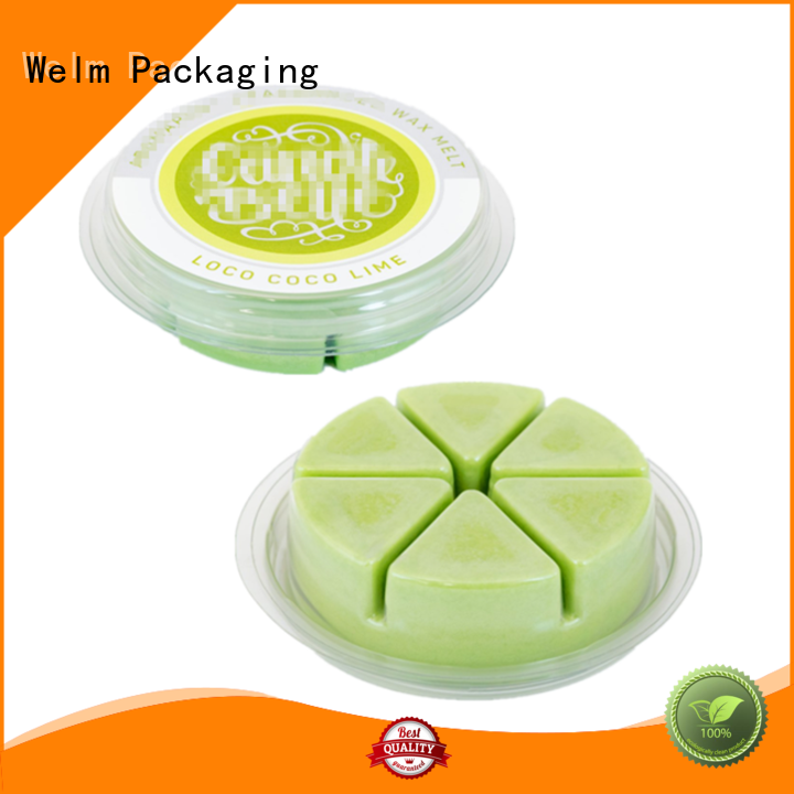Welm children barrier packaging tray for cosmetics and toy