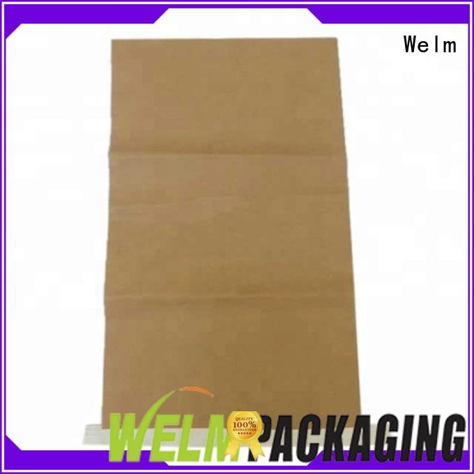 Welm dried custom packaging with red vinyl sticker for children toys