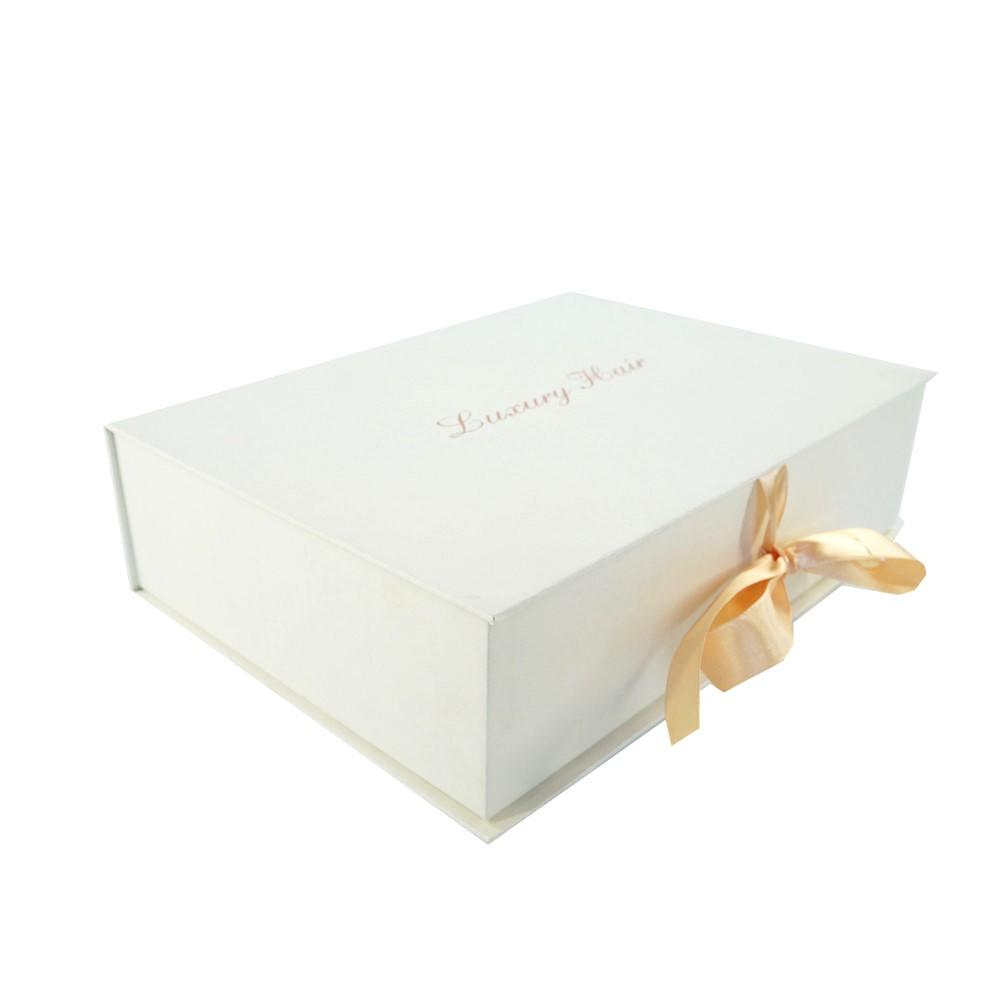 Welm luxury magnetic closure gift box logo for gift-1