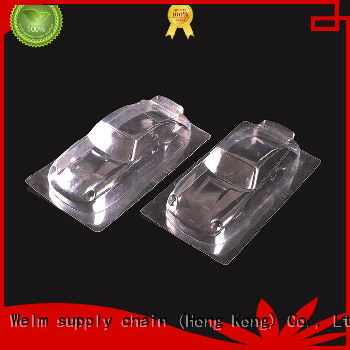 Welm disposable packaging seal tray liner for cosmetics and toy