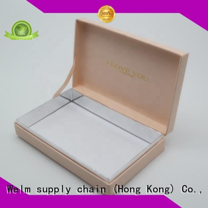 Welm cardboard custom packaging craft for children toys