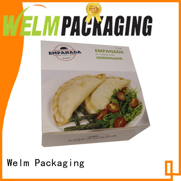 Welm colorful corrugated packaging for gift