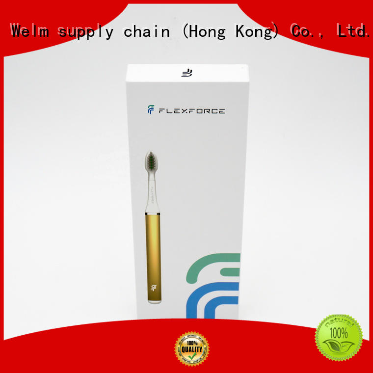 Welm white electronic product packaging design supplier for power bank