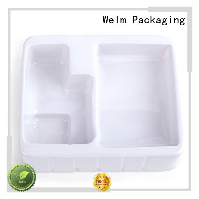 High Quality custom plastic white vacuumed blister packaging for cosmetics and toy