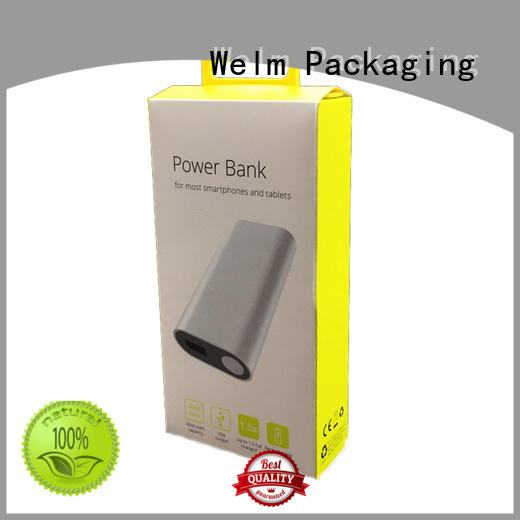 high end electronics packaging design with pvc window for sale