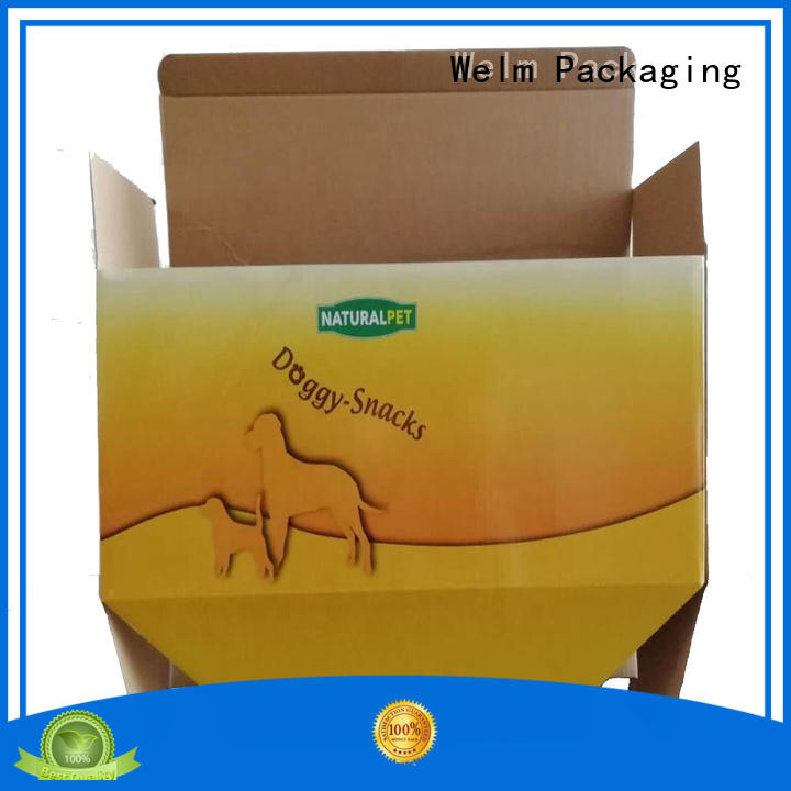 Welm recyclable food packaging design supplier for pet food