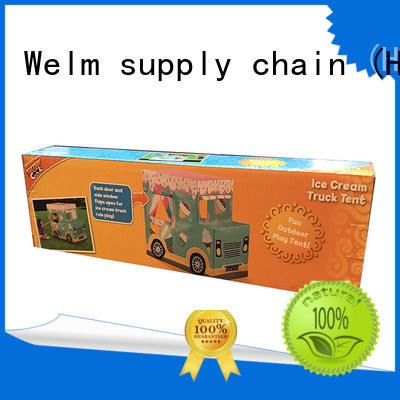 folding open toy box supplier for display