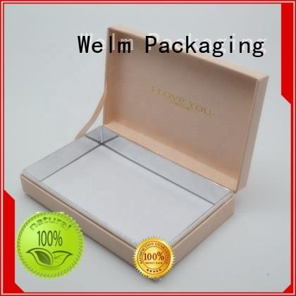 Welm logo gift box for dried fruit