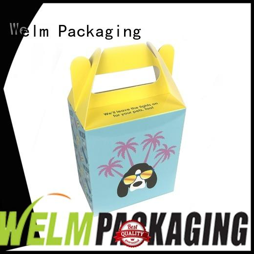 Custom Logo Printing  Colorful Food  Packaging Gift Paper Box