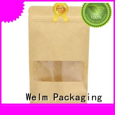 Welm ecofriendly brown paper bags online factory for sale