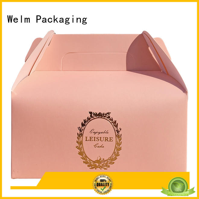 Welm paper dessert packaging company for gift