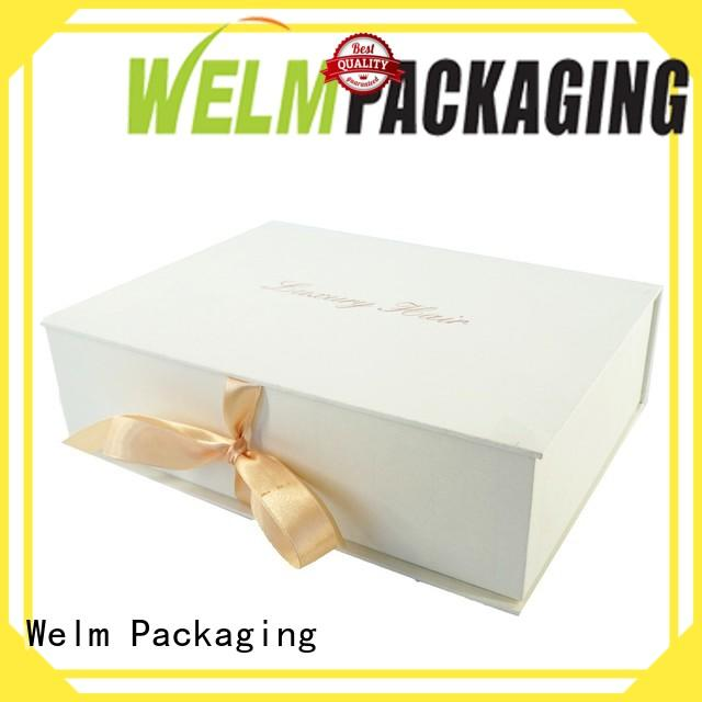 Welm closure gift boxes wholesale handmade for necklace