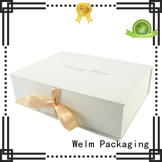 Welm paper box packaging closure for sale