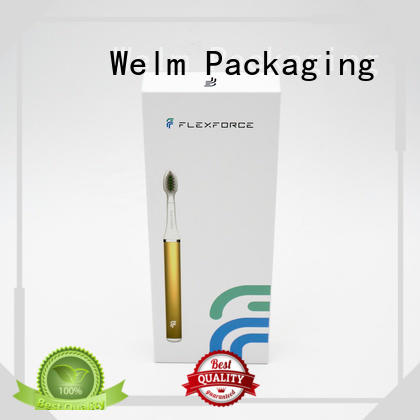 Welm rectangular packaging box product for business for men