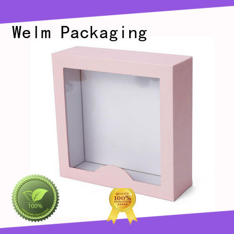 Welm packaging box supplier online for power bank