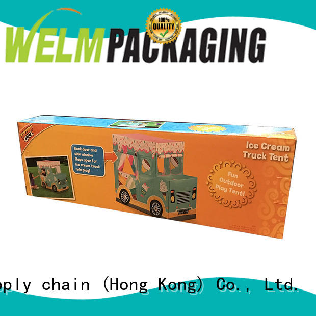 Corrugated Paper Toy Packaging Box