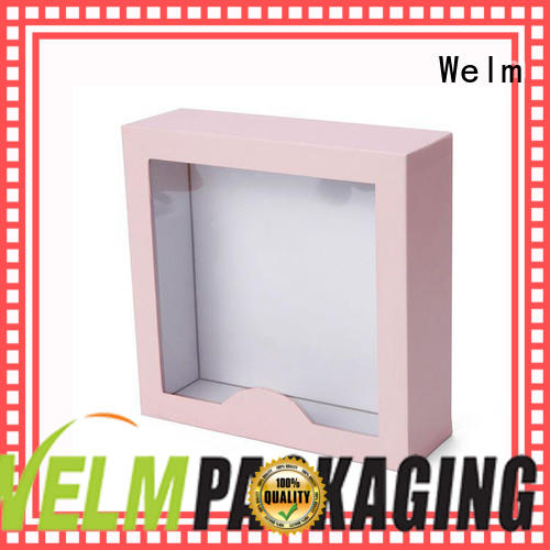 Welm hologram gift box packaging toys