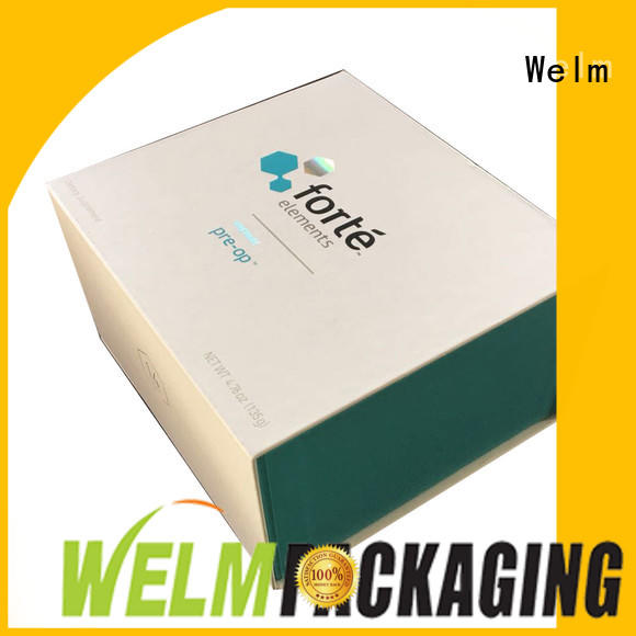 Welm recycle gift boxes wholesale custom made for lip stick
