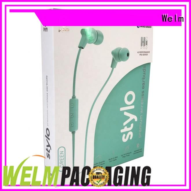 high end Electronics packaging box superior quality for sale Welm