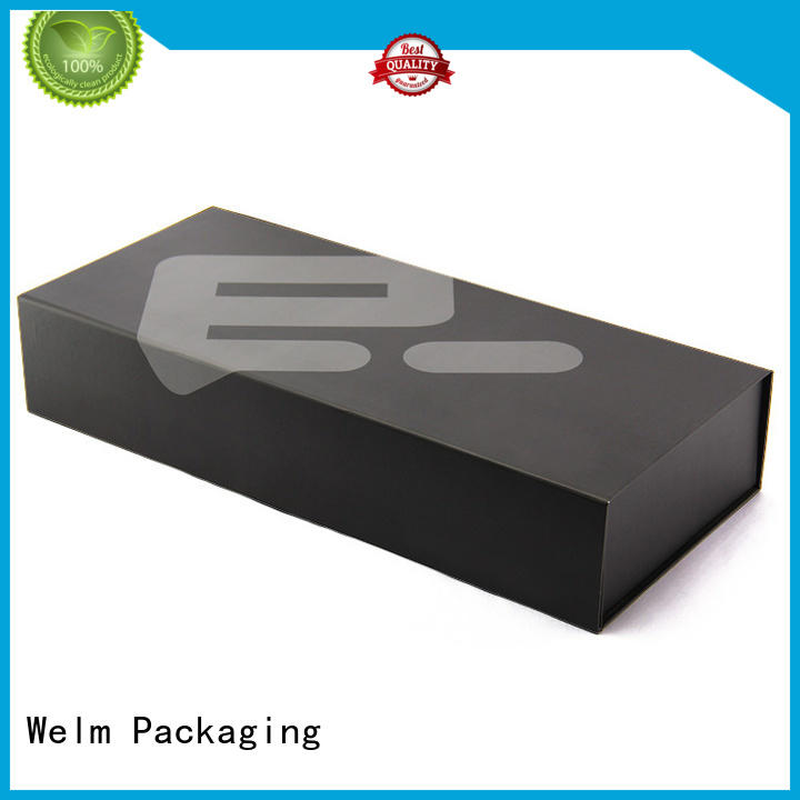 Welm recycle printed magnetic boxes factory for sale