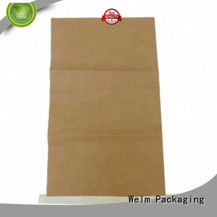 Welm paper bags with handles logo for shopping