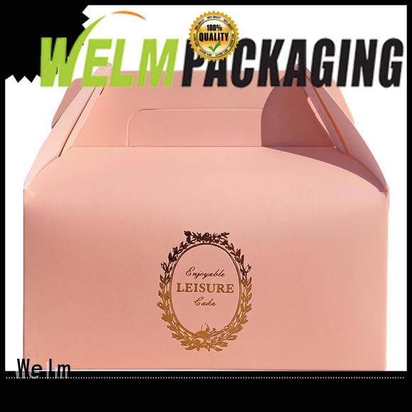 Welm ivory custom food packaging for sale