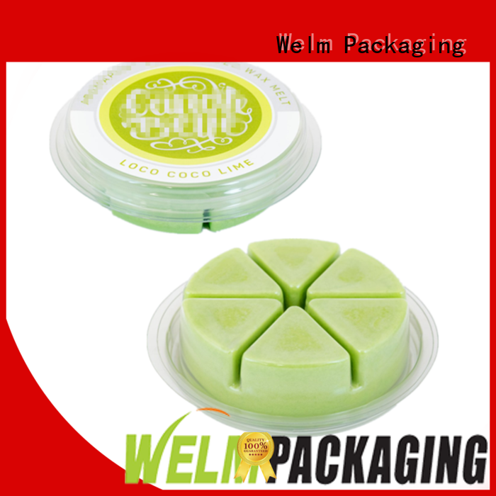 Circle Cavity Clamshell Blister Candle Mold Packaging Round Blister Packs