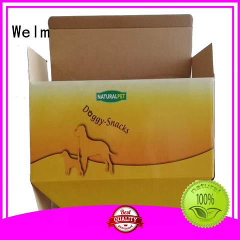 new cardboard box packaging dessert for business for pet food