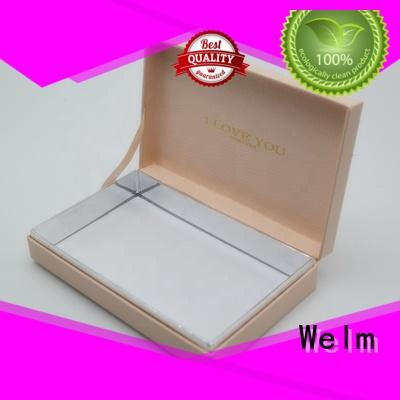 Welm product gift boxes wholesale with window for sale