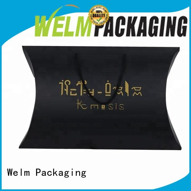 Welm gift custom packaging boxes wholesale for power bank