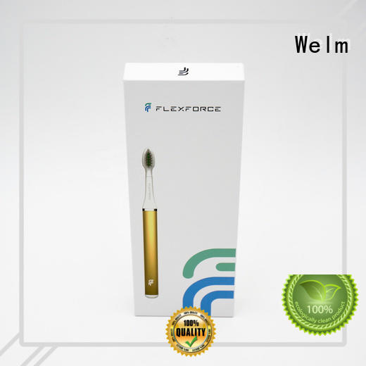 Welm toothbrush electronics shipping box supplier for power bank