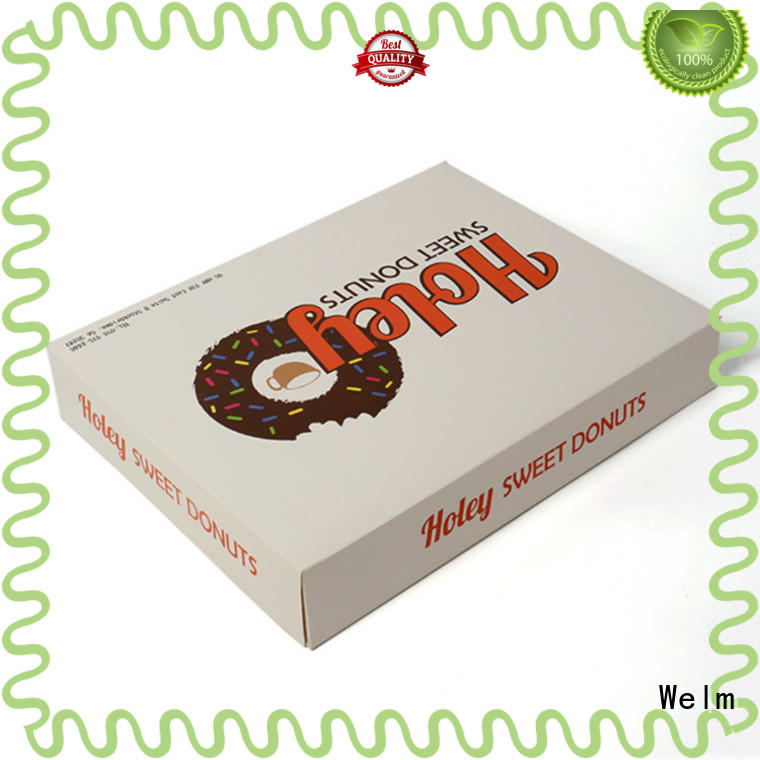 donut disposable snack boxes colorprinted cartoon for gift