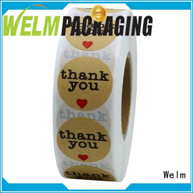 customized product label stickers supplier for storage
