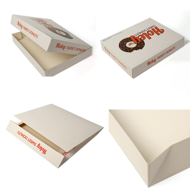 Customized food doughnut packaging box with color-printed food-grade materials-1
