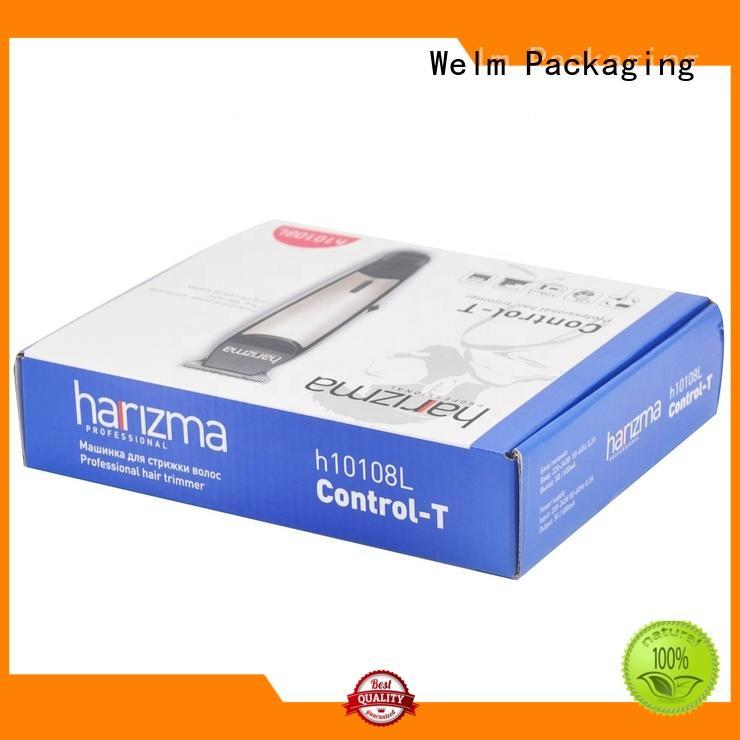Welm electronics packaging design supplier for home