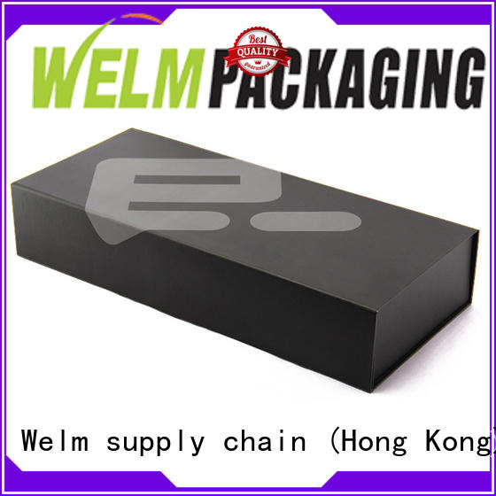 Welm luxury gift boxes wholesale with window for sale