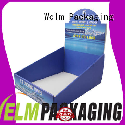 Welm malier toy box designs with custom logo for display