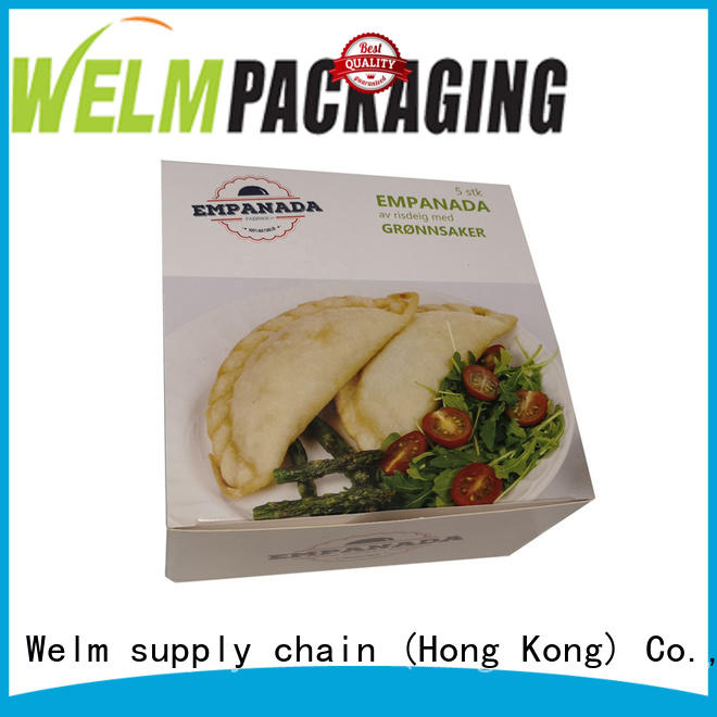 Welm food packaging design cartoon for gift