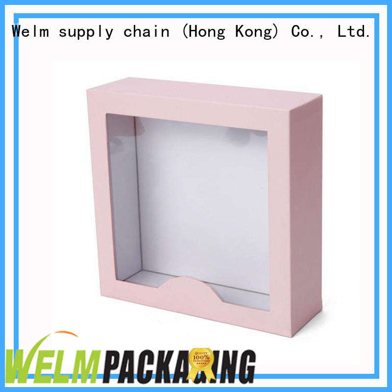 Welm art printed packaging boxes manufacturer for sale
