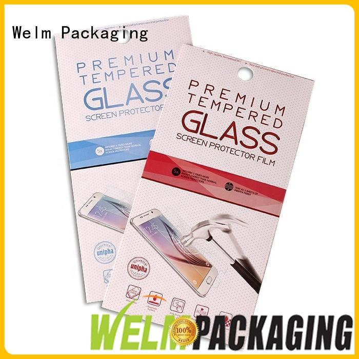 Welm custommade simple packaging for business for home