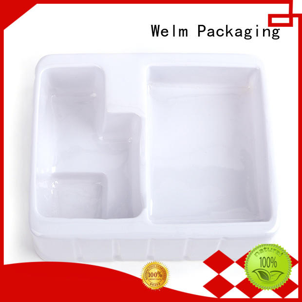 Welm clamshells packaging systems tray liner for cosmetics and toy