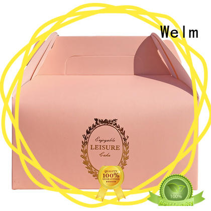 Welm donut christmas gift boxes wholesale for pet food