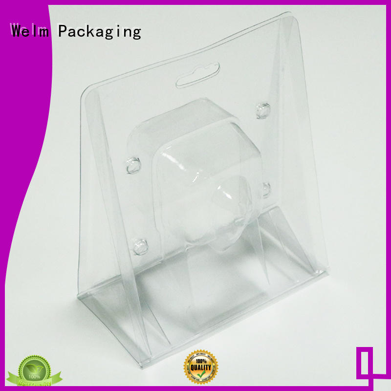 Welm polybag blister pack packaging supermarket fruit display for mouse packaging