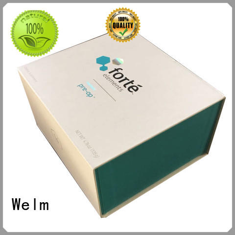Welm new gift containers printed online