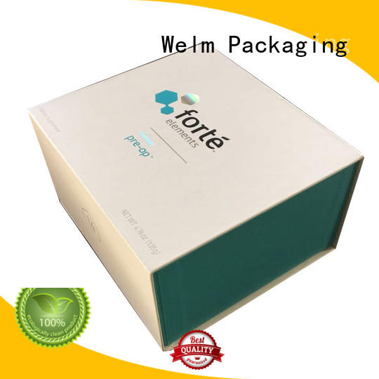 Welm paper gift boxes wholesale with ribbon for sale