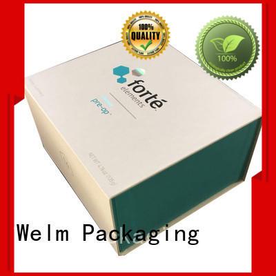 Welm label custom packaging customized for children toys