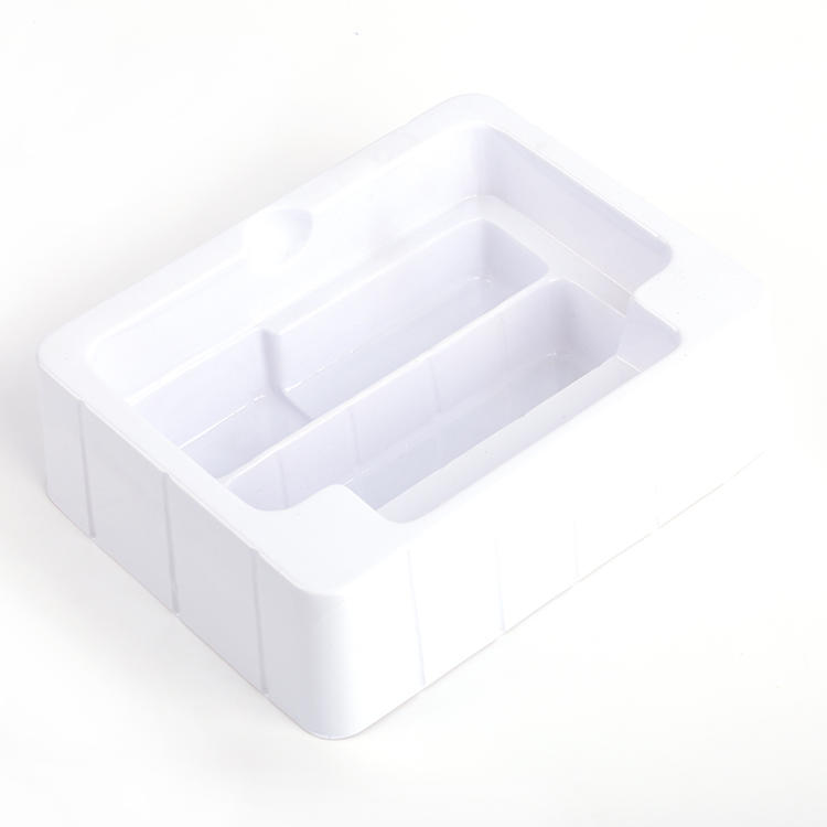 High Quality custom plastic white vacuumed blister packaging for cosmetics and toy-2